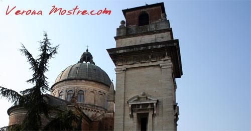 Il campanile e la cupola rinascimentale realizzata da Michele Sanmicheli per San Giorgio in Braida.