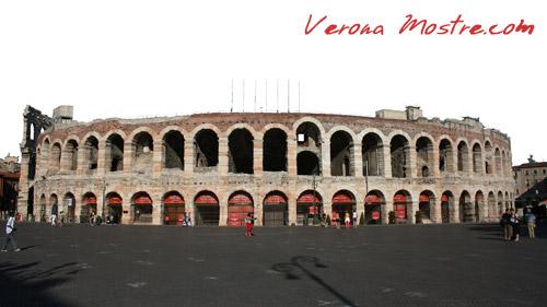 L'Arena di Verona, il più significativo edificio della Verona Romana.
