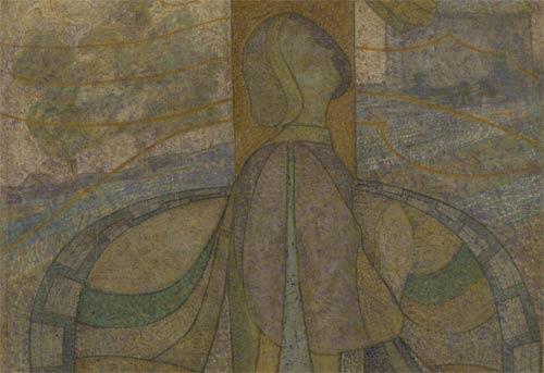 Johan Thorn Prikker - Presso la croce