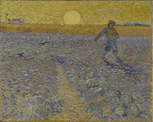 Vincen Van Gogh - Il seminatore