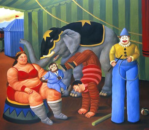 circo botero