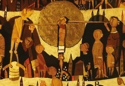 Giulio Salvadori Crocifissione