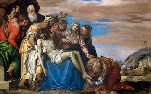 La deposizione di Paolo Veronese