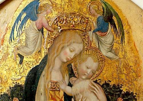 Pisanello - Madonna della Quaglia