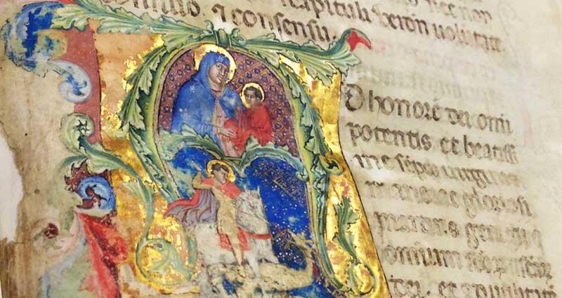 Miniatura per l'articolo intitolato:Visita guidata alla biblioteca Capitolare di Verona