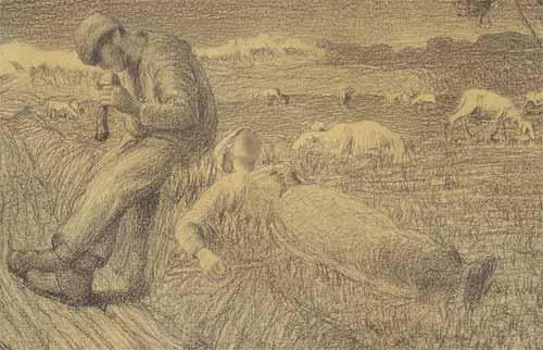 Giovanni Segantini - Dopo un bacio.