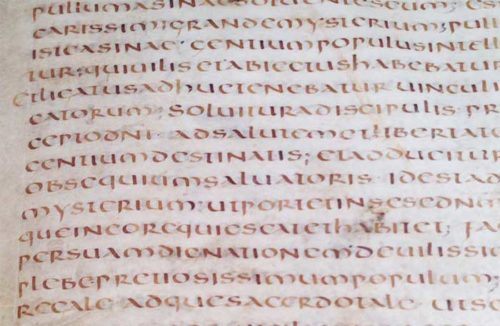 manoscritto ariano