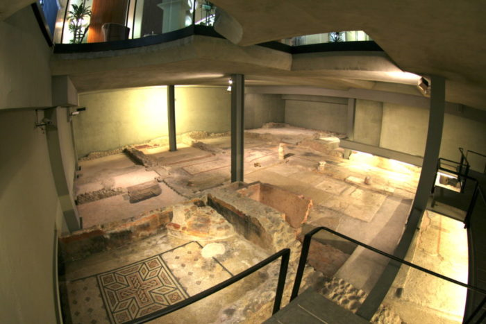 Resti domus romana verona sotterranea