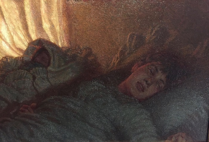Angelo Morbelli - Alba felice - 1893