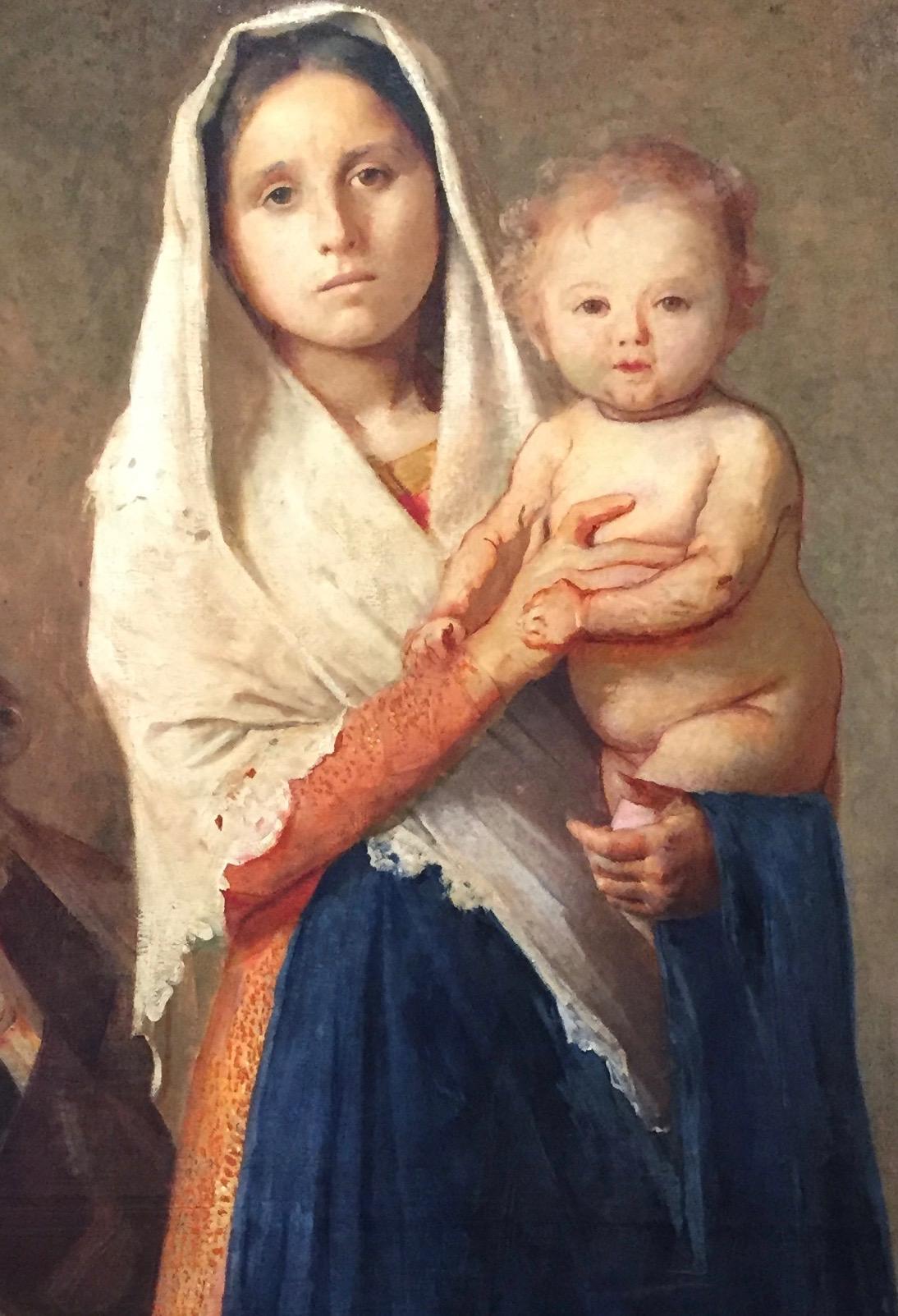 Giuseppe Pelizza da Volpedo - Sacra famiglia - 1892