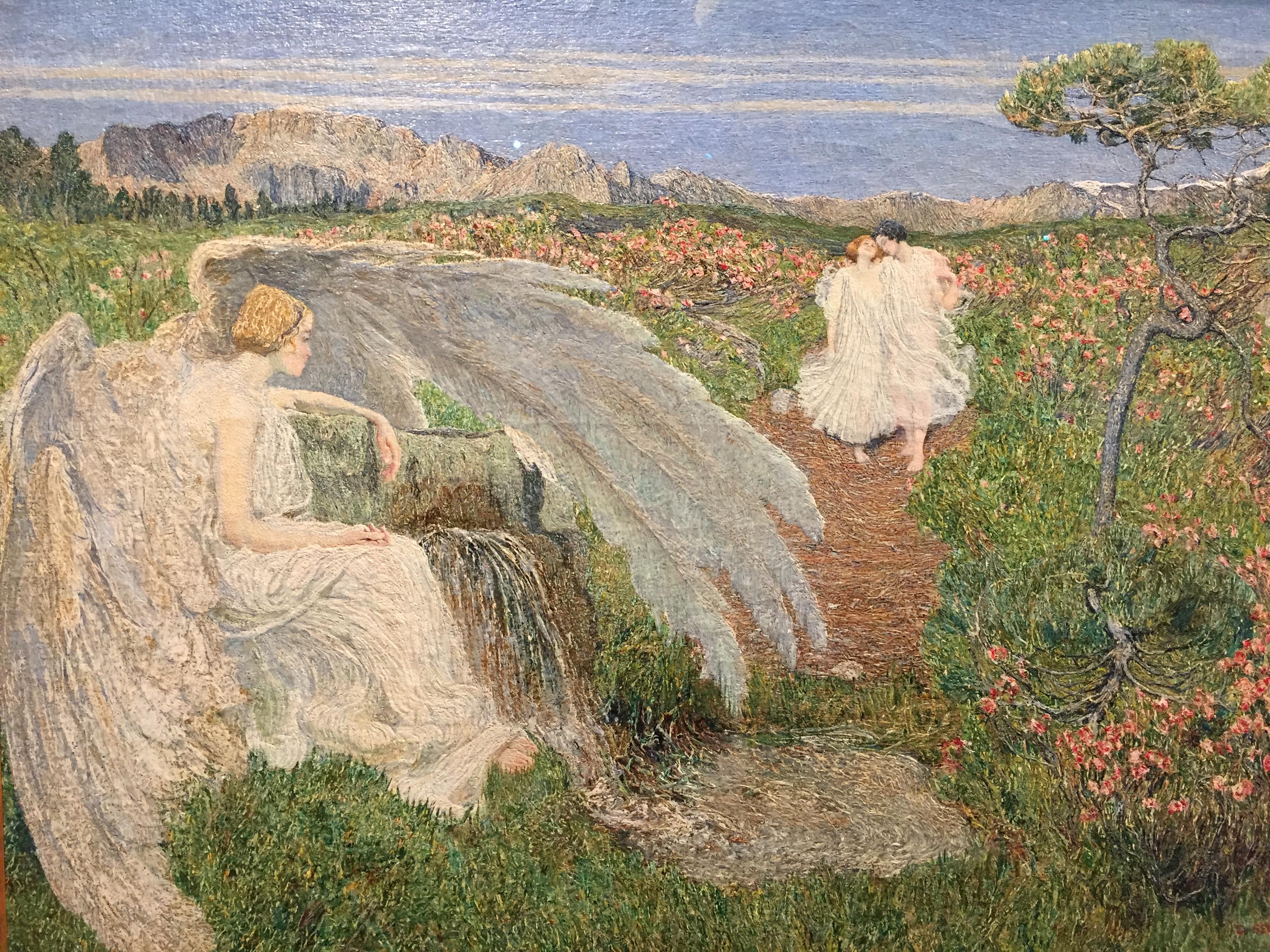 Giovanni Segantini - L'Amore alla fonte della vita - 1896