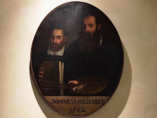 Ritratto di Domenico e Felice Ricci, detto Brusasorzi.