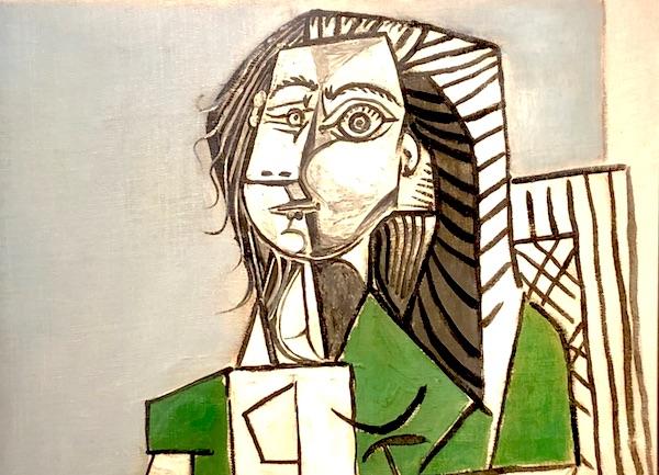 Un ritratto cubista di donna di Pablo Picasso