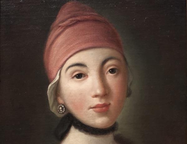 Un tipico ritratto femminile di Pietro Rotari